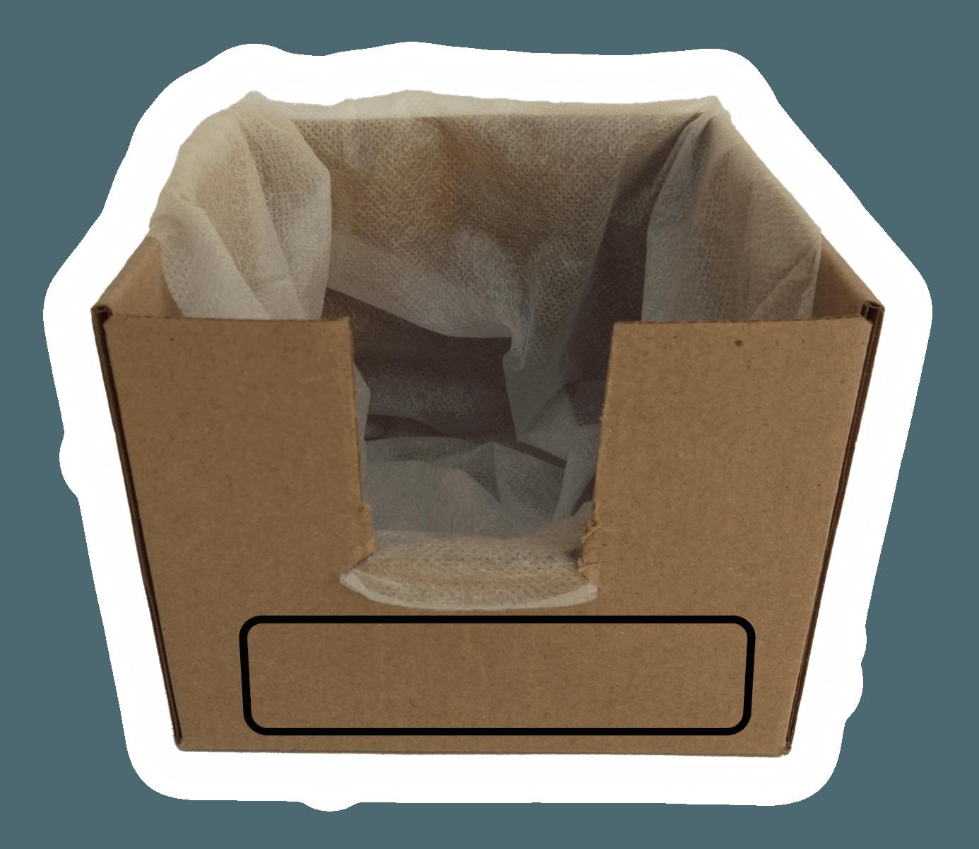 box recycling machine